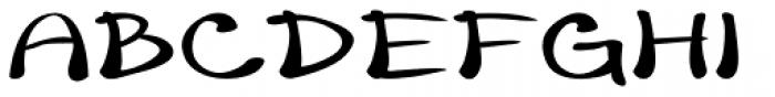 Merilee Expanded Bold Font UPPERCASE