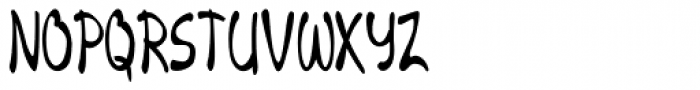 Merilee Extracondensed Bold Font UPPERCASE