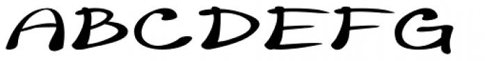 Merilee Extraexpanded Bold Italic Font UPPERCASE