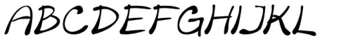 Merilee Italic Font UPPERCASE