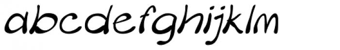 Merilee Italic Font LOWERCASE