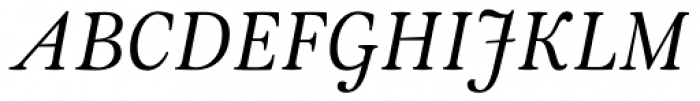 Meringue Italic Font UPPERCASE