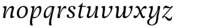 Meringue Italic Font LOWERCASE