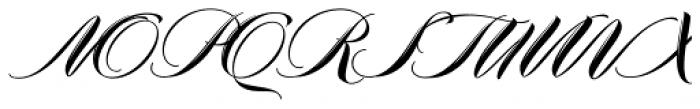 Meritage Font UPPERCASE