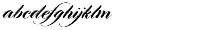 Meritage Font LOWERCASE