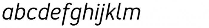 Merlo Medium Italic Font LOWERCASE