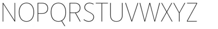Merlo Neue Hairline Font UPPERCASE