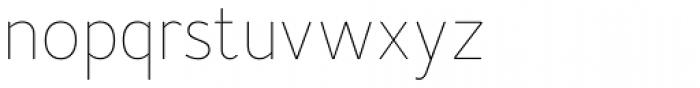 Merlo Neue Hairline Font LOWERCASE