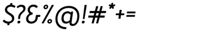 Merlo Neue Italic Font OTHER CHARS