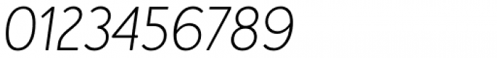 Merlo Neue Round Extra Light Italic Font OTHER CHARS