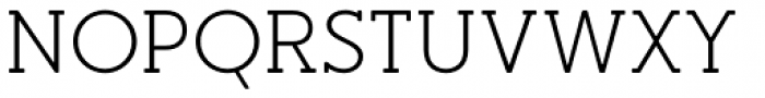 Merlo Round Serif Regular Font UPPERCASE