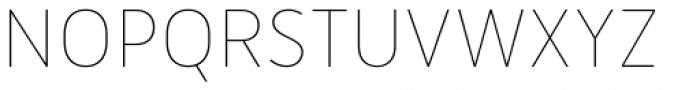 Merlo Thin Font UPPERCASE