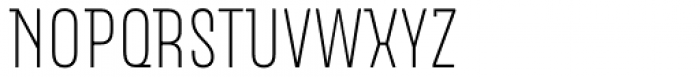 Merlod Queue Extra Light Font UPPERCASE
