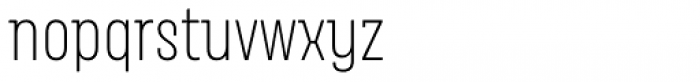 Merlod Queue Extra Light Font LOWERCASE