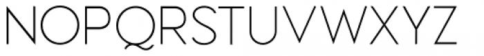 Meroche Thin Font UPPERCASE