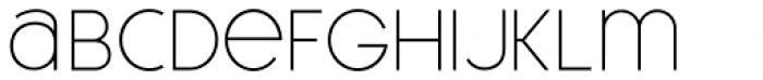 Meroche Thin Font LOWERCASE