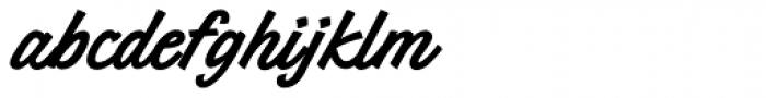 Merrimac Bold Font LOWERCASE