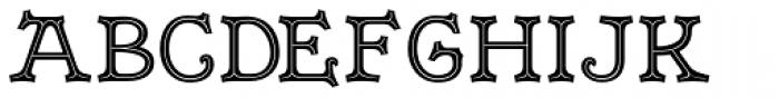 Merrivale No.2 Font UPPERCASE
