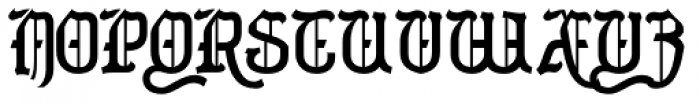Merrivaux Solid Font UPPERCASE