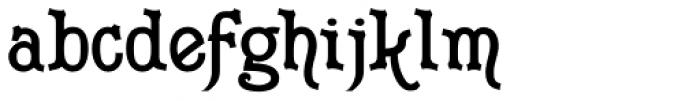 Merrivaux Solid Font LOWERCASE