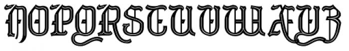 Merrivaux Font UPPERCASE