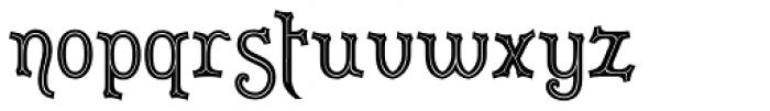 Merrivaux Font LOWERCASE