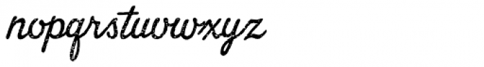 Merry Melody Mezzoforte Font LOWERCASE