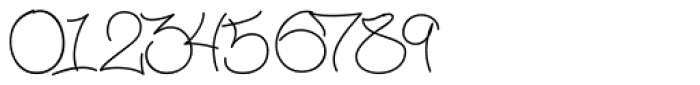 Mesh One AOK Light Regular Font OTHER CHARS