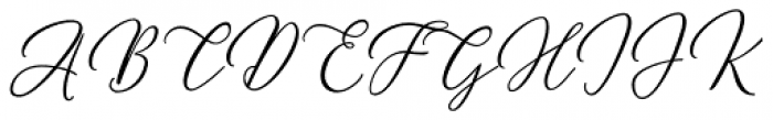 Meshitara Italic Font UPPERCASE