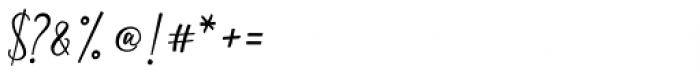 Meshitara Font OTHER CHARS