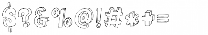 Meshuggeneh Font OTHER CHARS