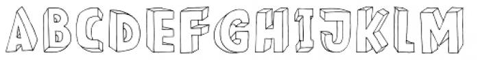 Meshuggeneh Font LOWERCASE