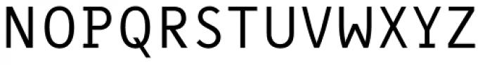 Message Regular Font UPPERCASE