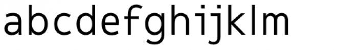 Message Regular Font LOWERCASE