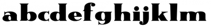 Messing Font LOWERCASE