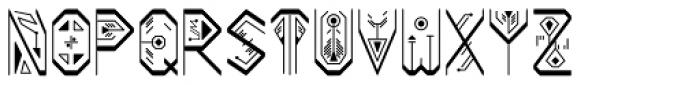 Mestizo Belus Font LOWERCASE