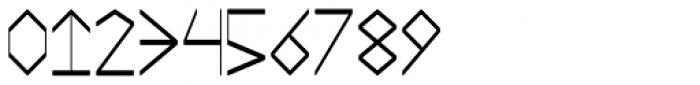 Mestizo Borba Font OTHER CHARS