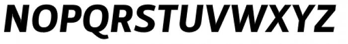 Mestre Black Italic Font UPPERCASE