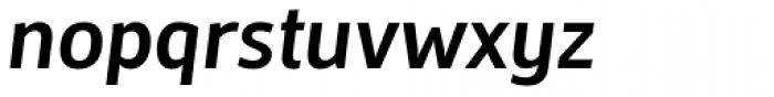 Mestre Bold Italic Font LOWERCASE