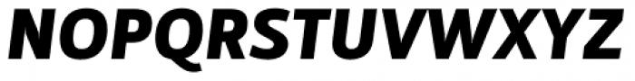 Mestre Heavy Italic Font UPPERCASE