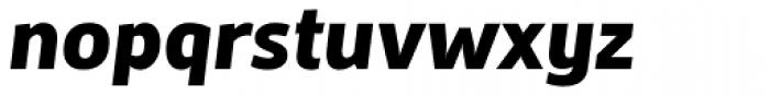 Mestre Heavy Italic Font LOWERCASE