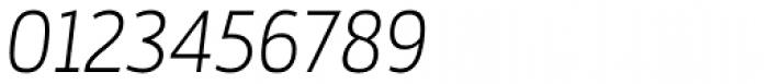 Mestre Light Italic Font OTHER CHARS