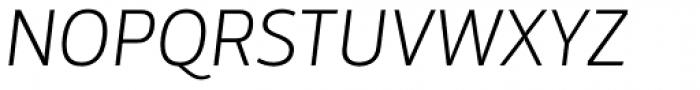 Mestre Light Italic Font UPPERCASE