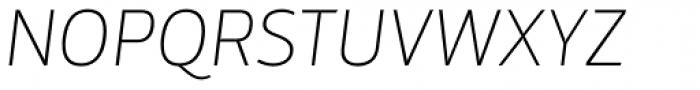 Mestre Thin Italic Font UPPERCASE