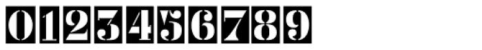 Metal Stencil JNL Font OTHER CHARS