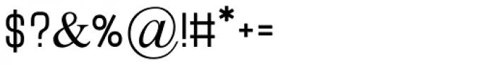 Metapsim MF Medium Font OTHER CHARS