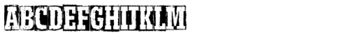 Meteora Bold Font UPPERCASE
