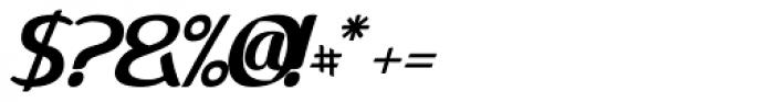 Methylene Alternate Font OTHER CHARS