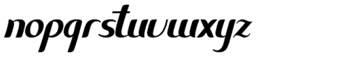 Methylene Alternate Font LOWERCASE