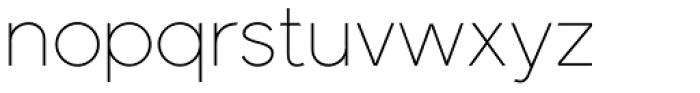 Meticula Thin Font LOWERCASE